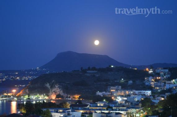 'Fullmoon - View from Erodios Apartments' - La Canée