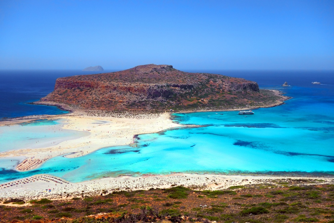 Balos beach in Greece