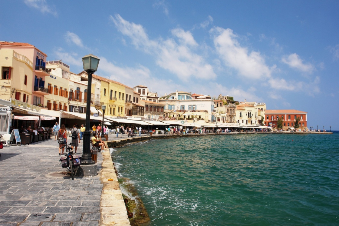 'View of the old port of Chania, Crete' - La Canée